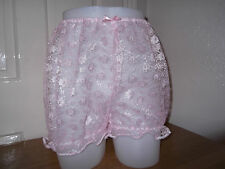 UNISEX~ADULT BABY~SISSY~MAIDS~TV/CD SEXY LACE BLOOMERS