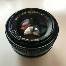 CANON FD 55mm f1.2 S.S.C. Lens 'CLEAR GLASS'