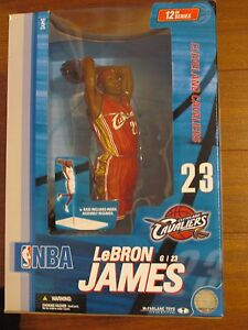 MCFARLANE TOYS NBA 12 INCH LeBRON JAMES CLEVELAND CAVALIERS FIGURE
