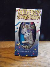 Pillsbury Doughboy 30th Birthday Collector Glass Tumbler 1995 in Original Box