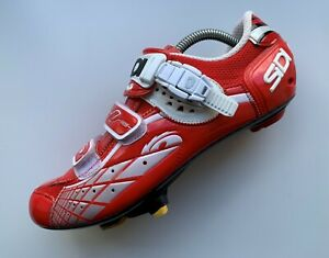 SIDI Carbon Sole Cycling Shoes Size EUR 43 US 9-9.5 UK 8-8.5
