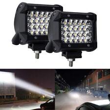 2x 72W LED Work Light Bar Roof Flood Driving Fog Lamp Offroad Car Van Spotlight