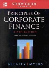 Principles of Corporate Finance: Student Study Guide,Richard A. Brealey, Stewar