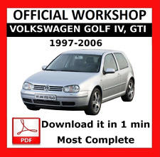 >> OFFICIAL WORKSHOP Manual Service Repair Volkswagen Golf IV 1997 - 2006