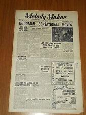 MELODY MAKER 1949 #825 MAY 28 JAZZ SWING GOODMAN JACK NATHAN JOE LOSS GRAPPELLY