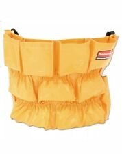 Rubbermaid Commercial FG264200YEL Brute Caddy Bag, 12 Pockets, Yellow NEW