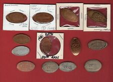 13 Anniversary Elongated Coins