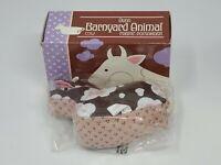 Vintage Avon Barnyard Animal Cow Fabric Pomander