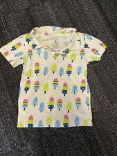 BABY SOY SHORT SLEEVE POLO SHIRT-POPSICLES 3T