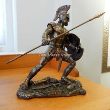 Achilles - Trojan War Hero from Ancient Greek Mythology - Bronze Figurine