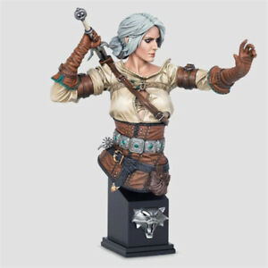 Sword warrior Resin Bust Kits GK Unpainted Recast Unassembled X349 13cm