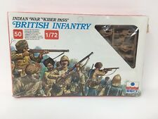 British Infantry Indian War Kiber Pass Esci 50 1/72 Scale Italy