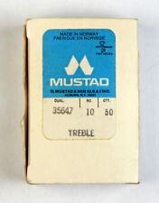 Mustad 35647 Treble Size 10, 38 pack
