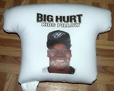 Toronto Blue Jays Big Hurt Frank Thomas Kids Pillow MLB Baseball Original RARE