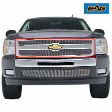 Billet Grille 36-0130 4mm Vertical Overlay Fit for 07-13 Chevy Silverado 1500