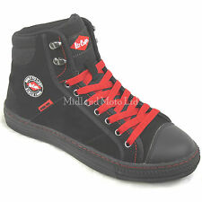 Lee Cooper Ladies Steel Toe Cap Baseball Style Safety Boots.Trainers Shoes LC022