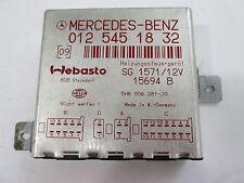 Mercedes Benz W140 S-Klasse Steuergerät Standheizung A0125451832 er. A0155452532