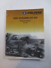 Polaris 2003 Scrambler 500 Service Manual