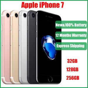 New Original Apple iPhone 7 256GB 128GB 32GB All Colours Unlocked Smartphone UK