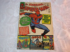 THE AMAZING SPIDER MAN  MARVEL 1960'S MARVEL COMIC NO.38  JULY    T*
