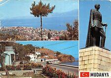 BR6446 Mudanya Deux vues et le monument d'Inonu  Turkey