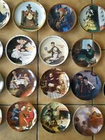 Knowles Norman Rockwell Plate Collection HUGE Lot of ( 23 ) plates Total