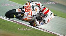 Marco Simoncelli San Carlo Honda Gresini Moto GP Quatar 2011 Photograph 3