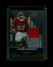 Larry Johnson Absolute Memorabilia GRIDIRON FORCE Jersey Auto #/25! Chiefs STAR!