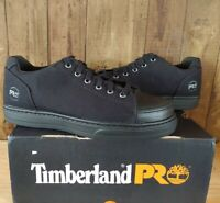 Timberland PRO Mens Disruptor Oxford Alloy Safety Toe Work Shoes Black Sz 8.5 W