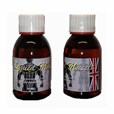 2 bottles Liquid Muscle 100ml Synthol Posing Oil