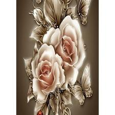 1Pc 5D Rose DIY Diamond Embroidery Diamond Painting Cross Stitch Kits Home Decor