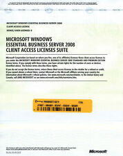 Microsoft Windows Essential Business Server 2008 5 User Device CAL No media