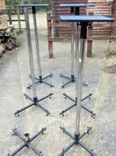 Unicol Single Pole X-Base UPS Projector Stands Mega Bundle - Used