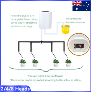 New Automatic Drip Irrigation System Plant controller Self Watering kit Garden -