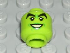 LEGO Lime Head Female Green Lips Teeth Wicked Witch Minifigure 71013
