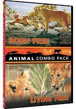 BORN FREE / LIVING FREE - NEW!!