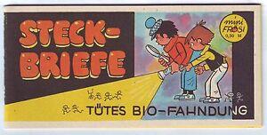 Mini Frösi Tütes Bio-Fahndung Richard Hambach Frösi-Sonderheft DDR Original