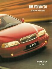 Volvo C70 Coupe & Convertible 2000-01 UK Market 16pp Sales Brochure 2.0T 2.4T T5