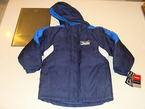 2012-13 Winnipeg Jets Age 4 Small Parka Hooded Fleece Jacket Kids Child