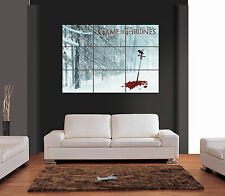 GAME OF THRONES SWORD IN THE SNOW Multipage Giant Wall Art Print Picture Poster