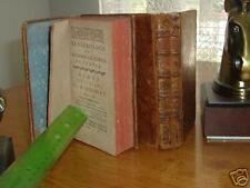 LE NECROLOGE DES HOMMES CELEBRES DE FRANCE 1768 & 1777
