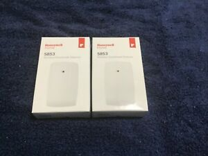 Honeywell 5853 Glassbreak Sensor Lot of 2 - New
