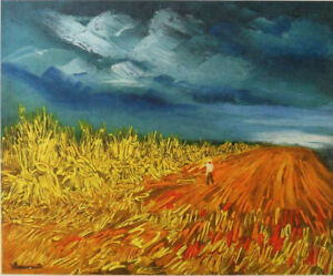 Maurice of Vlaminck: the Harvest - Lithography Signed, 1958, 2000ex
