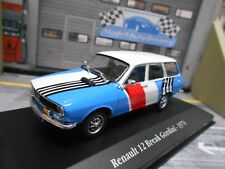 RENAULT 12 Break Gordini Combinata Servizio Rally 1974 Assistance Atlas SP 1:43