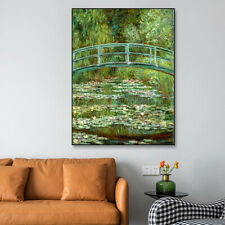 Monet Painting Water Lilies Canvas Wall Art Painting Decor Oanvas Painting 40X60