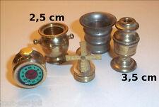 lot de miniatures en cuivre / laiton ancien, vintage, collection **C22