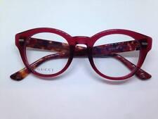 GUCCI occhiali da vista donna rossi GG3746 woman round red glasses lunettes