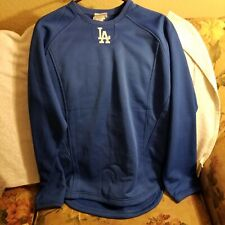LOS ANGELES DODGERS THERMA BASE SWEATER - YOUTH BOYS XL - MAJESTIC