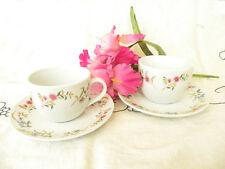 Two BIA Cordon Bleu Frieda Collection Versailles Coffee Tea Sauces & Cups