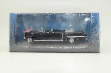 RARE !! Cadillac Limousine Decapotable Queen Elizabeth Atlas 1/43